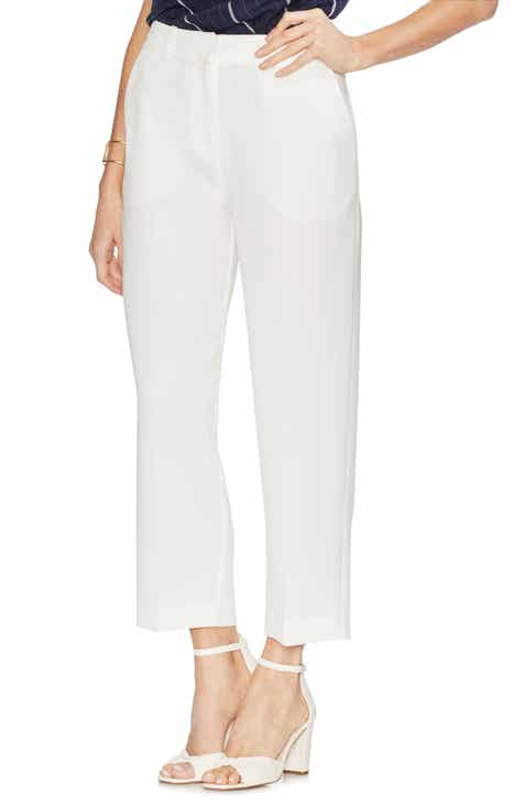 St. John Collection Liquid Satin Crop Pants by ST. JOHN COLLECTION