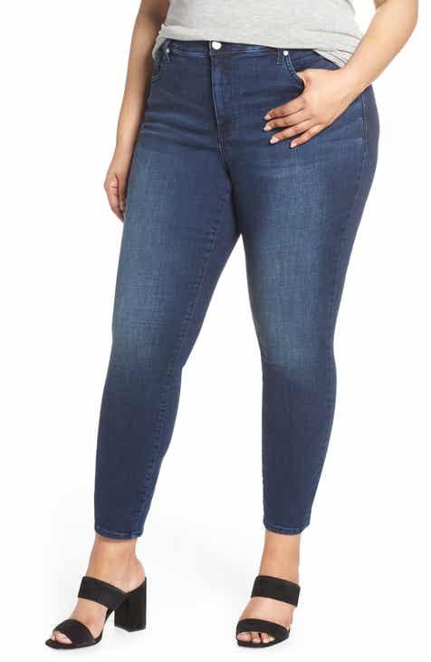 8592f449e05 NYDJ Ami High Waist Ankle Skinny Jeans (Rego) (Plus Size)