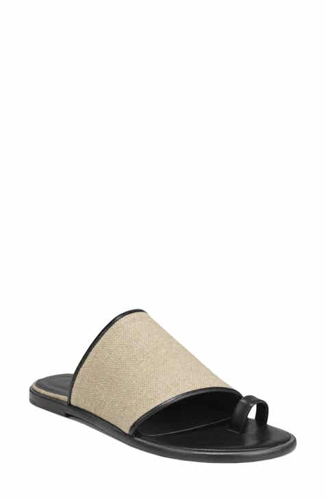 dedcde88e08 Vince Edan Woven Toe Loop Sandal (Women)