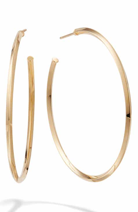 65d96b76b Lana Jewelry Pointed Royale Hoop Earings. $500.00. Product Image