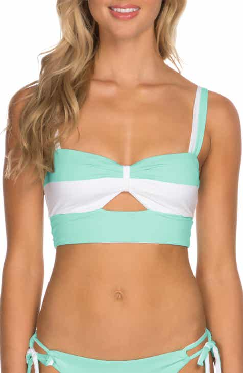 cc28bce9000e30 Isabella Rose Block Party Bikini Top