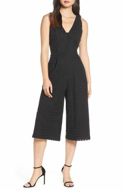 b7071f8788aa Adelyn Rae Lilie Basket Weave Culotte Jumpsuit