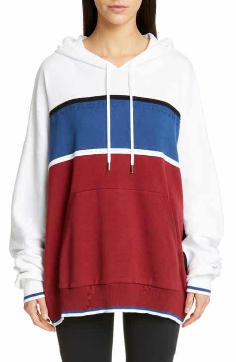 Brochu Walker Contrast Detail Cotton & Cashmere Hoodie by BROCHU WALKER