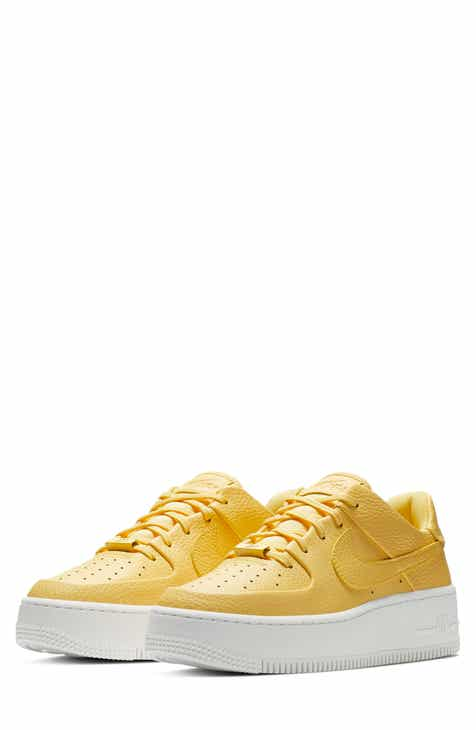 super popular bb711 7a83d Nike Air Force 1 Sage Low Platform Sneaker (Women)