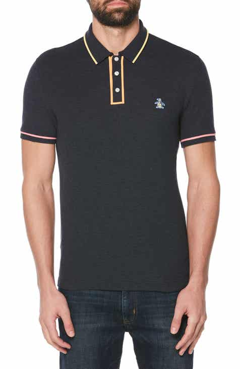 a05a0ccd4 Original Penguin Festivearl Piqué Polo. $69.00. Product Image. AIR BLUE