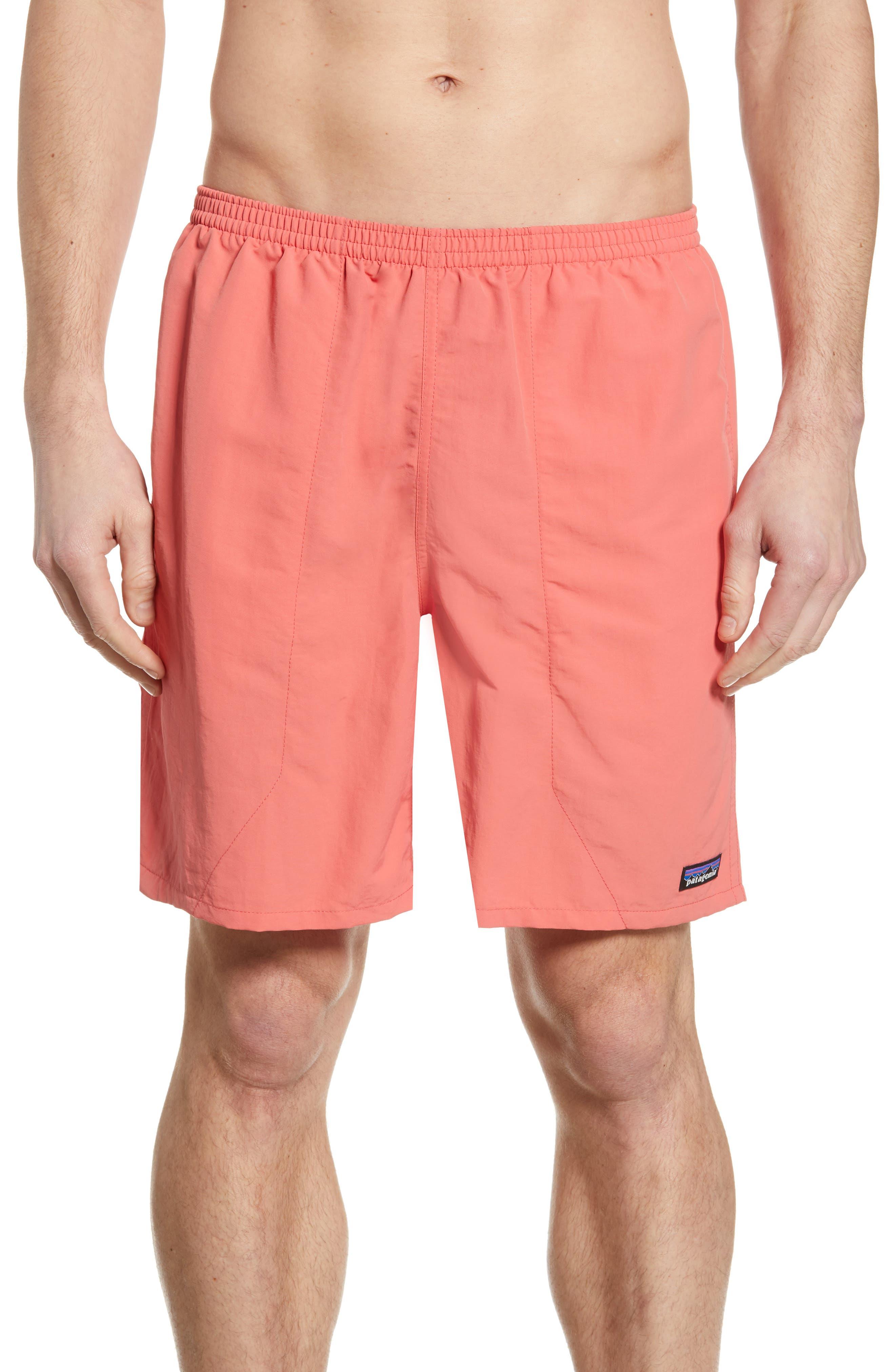 Men's Clothing Rhythym Mens Slub Reversible Shorts Navy Red 32 New