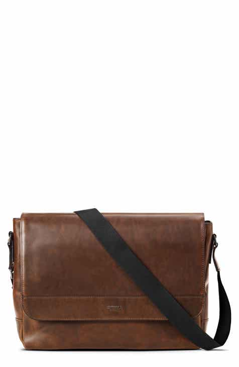 Shinola Navigator Leather Messenger Bag a979b62ab9db6