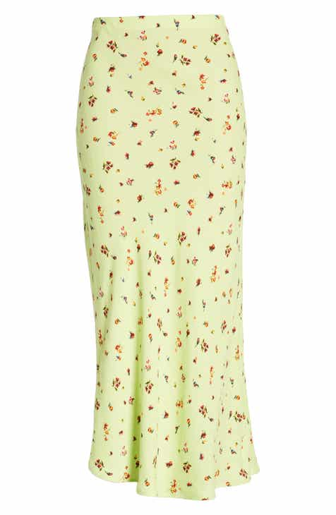 Madewell Floral Side Button Miniskirt by MADEWELL