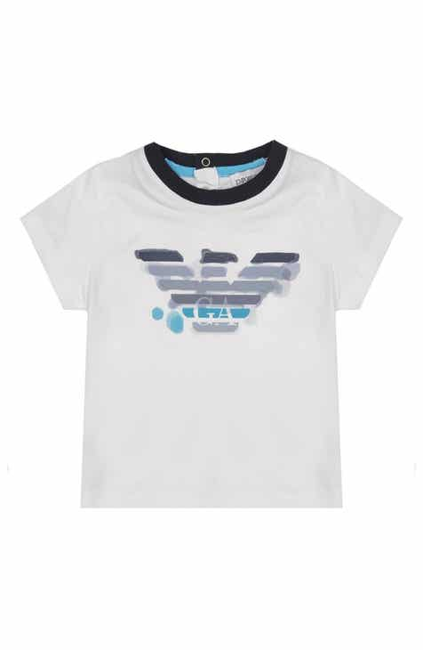 fe4c1f0b9074 Armani Junior Large Logo T-Shirt (Baby)