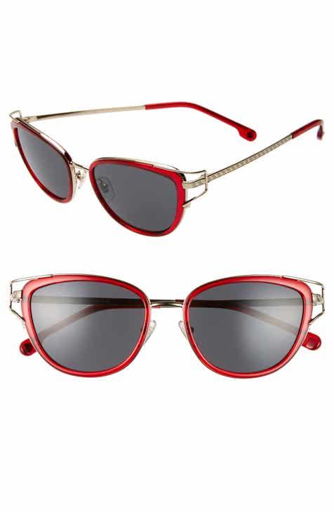 783c7e12abc3 Versace Greca 53mm Cat Eye Sunglasses