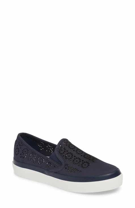 70627774fff Sperry Seaside Perforated Slip-On Sneaker (Women)