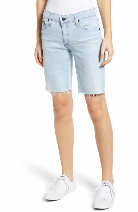 Madewell Stripe Paperbag Shorts by MADEWELL