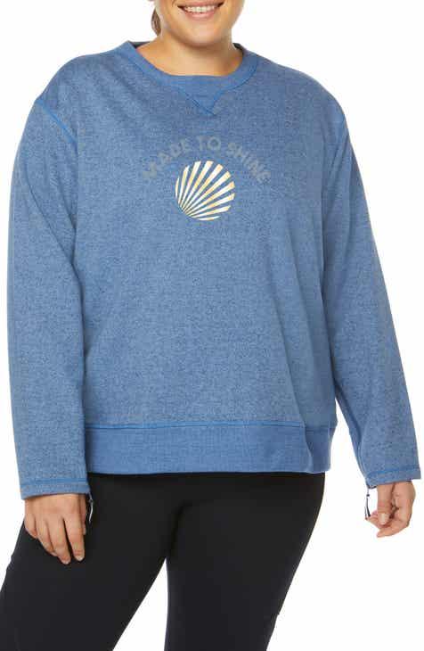 1d298403236 SHAPE Activewear Over Under Sweatshirt (Plus Size)
