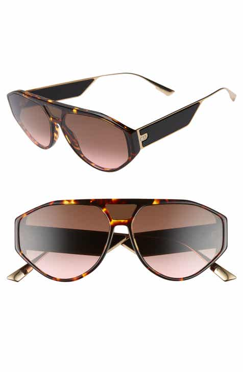 eb0169afd15b9 Christian Dior 61mm Aviator Sunglasses