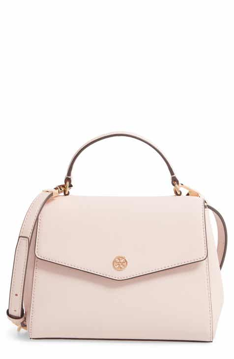 Tory Burch Small Robinson Saffiano Leather Top Handle Satchel 8364977d40
