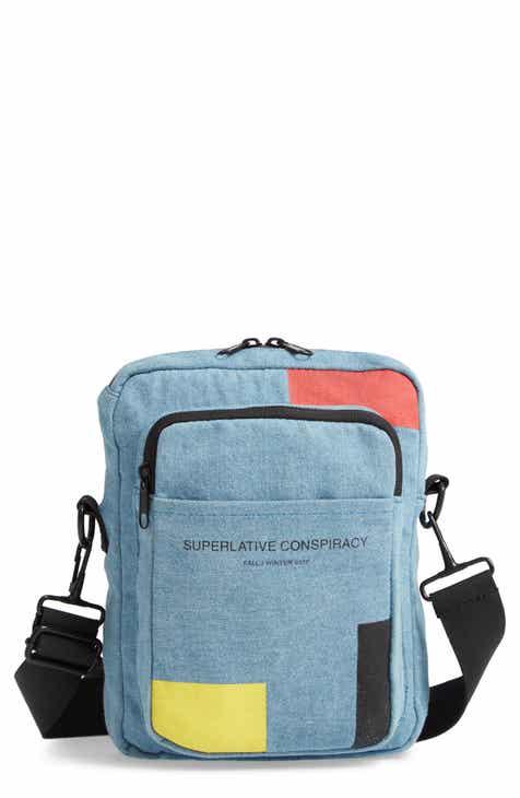 4fcbb31724 WeSC Colorblock Denim Crossbody Bag