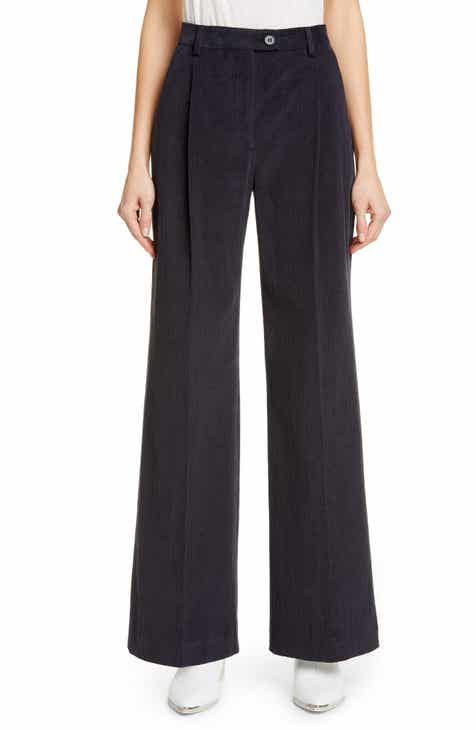 Acne Studios Pina Summer Cord Wide Leg Pants