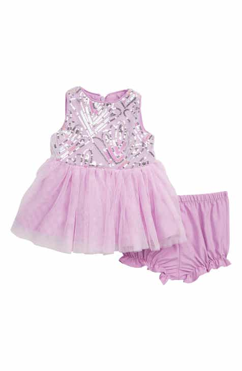 Pastourelle by Pippa & Julie Sequin Tutu Dress (Baby)