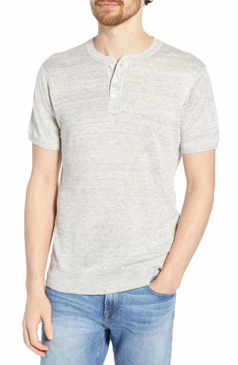 b7029030 Men's Grey Henley Long Sleeve & T-Shirts   Nordstrom