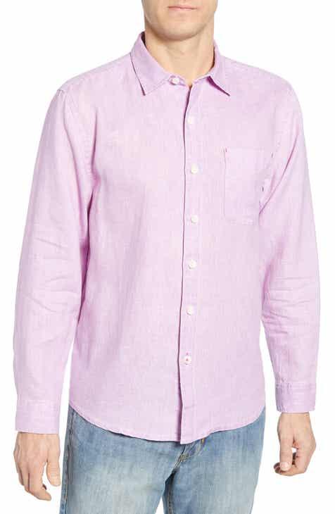1b222ef19a Tommy Bahama  Sea Glass Breezer  Original Fit Linen Shirt