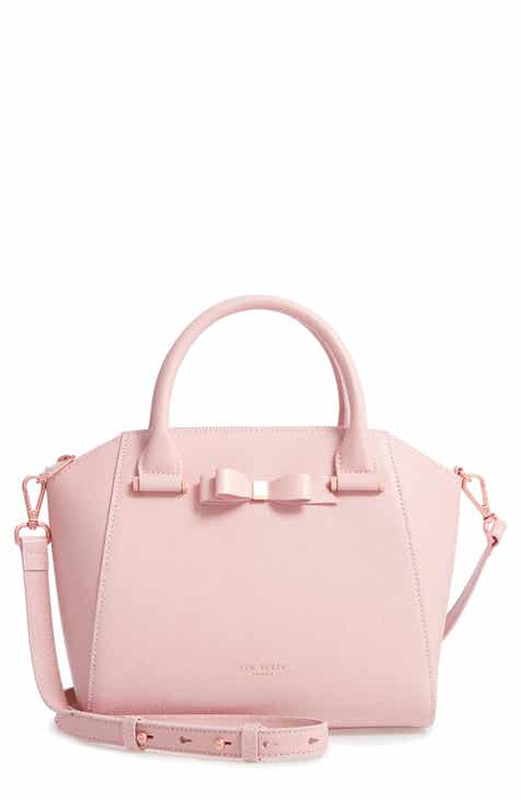 051102bff63a76 Ted Baker London Jannie Bow Leather Tote