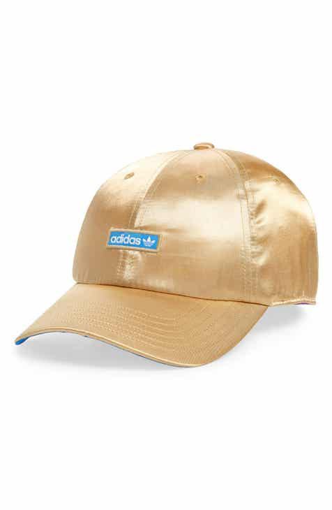 64c4b614caa adidas Originals Metallic Relaxed Strap Back Hat