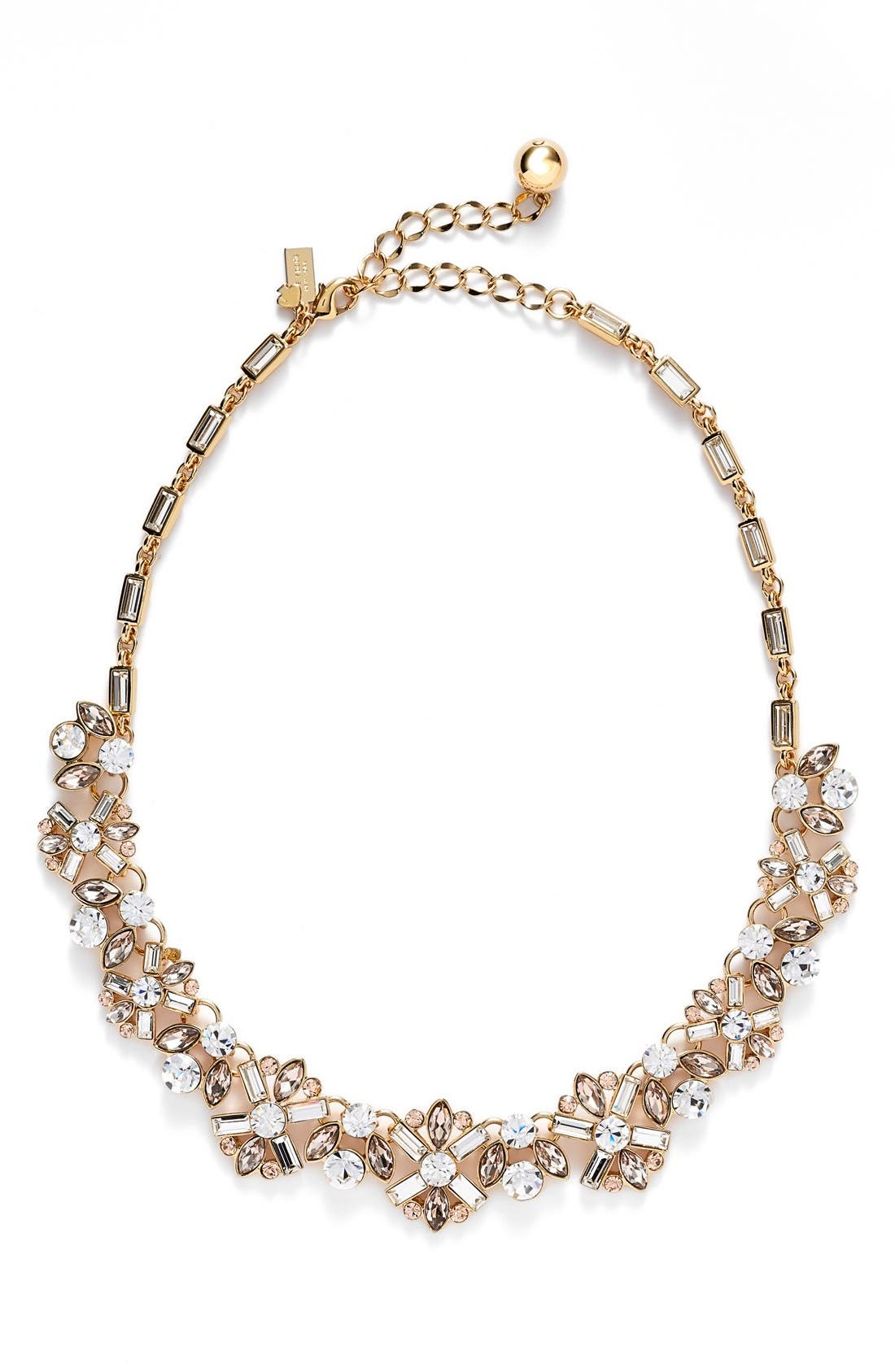 Alternate Image 1 Selected - kate spade new york 'cocktails & conversation' frontal necklace