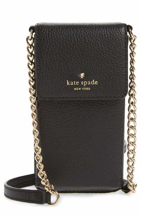 5758542327aa kate spade new york north south leather smartphone crossbody bag