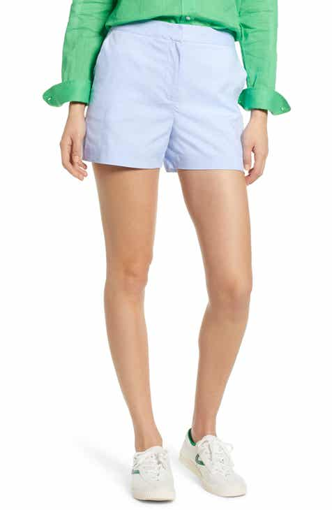 Madewell Emmett Gingham Button Front Shorts by MADEWELL