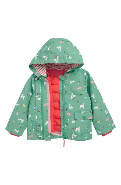 701d6127e603 Mini Boden 3-in-1 Farmyard Water Resistant Raincoat (Toddler Girls)
