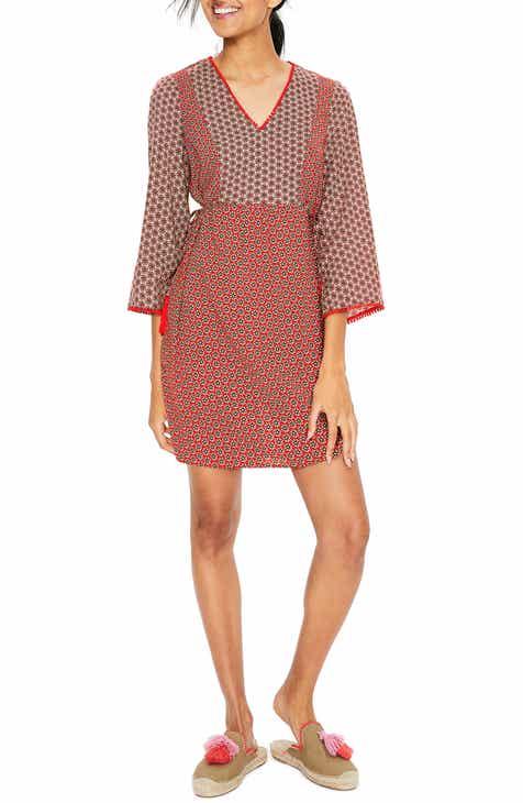 d2c50969dfa4 Boden Sasha Floral Cotton Dress (Regular   Petite)