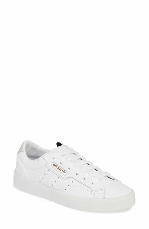 7ab42f9ce835 adidas Sleek Leather Sneaker (Women)