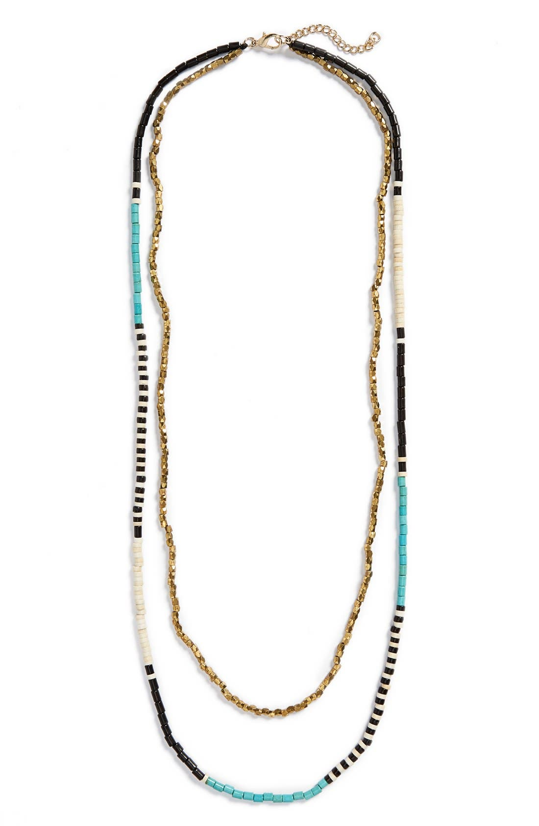 Alternate Image 2  - Panacea Beaded Multistrand Necklace
