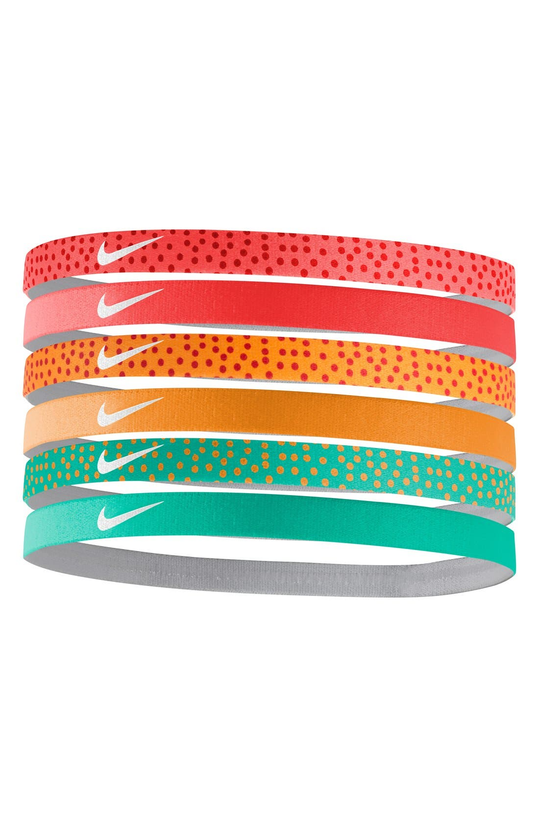 Main Image - Nike Sport Headbands (6-Pack)