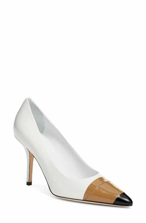 5a2433c096a2 Burberry Annalise Tape Cap Toe Pump (Women)