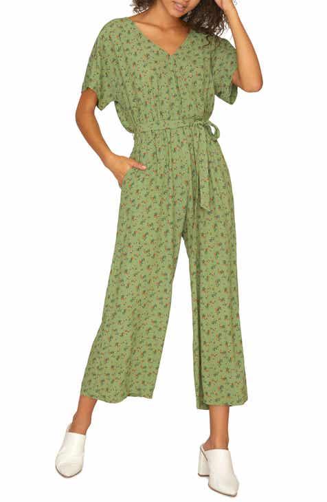 773bb2a9ec202 Sanctuary Andi Floral Print Wrap Jumpsuit (Regular   Petite)