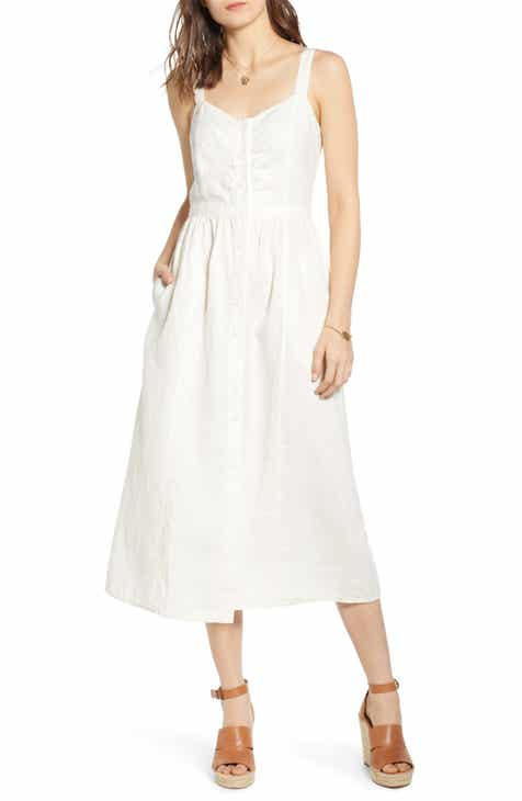 b931de4e2308 Treasure   Bond Linen Midi Dress
