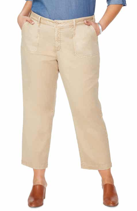 81b0c6d44c4 NYDJ Marilyn Ankle Chino Pants (Plus Size)