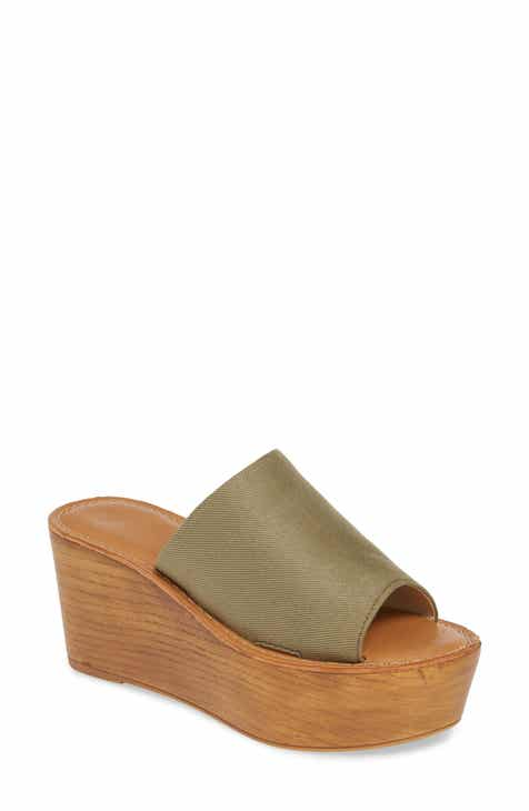 2af458840084 Chinese Laundry Waverly Platform Wedge Slide Sandal (Women)