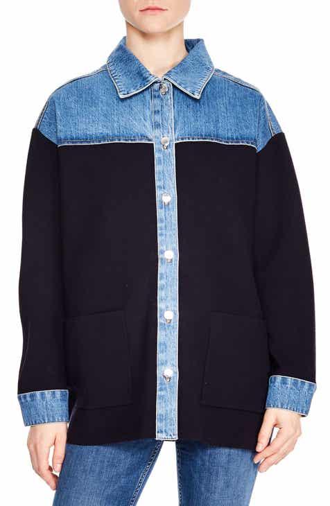 a8f13dacdc sandro Gwenaelle Jacket