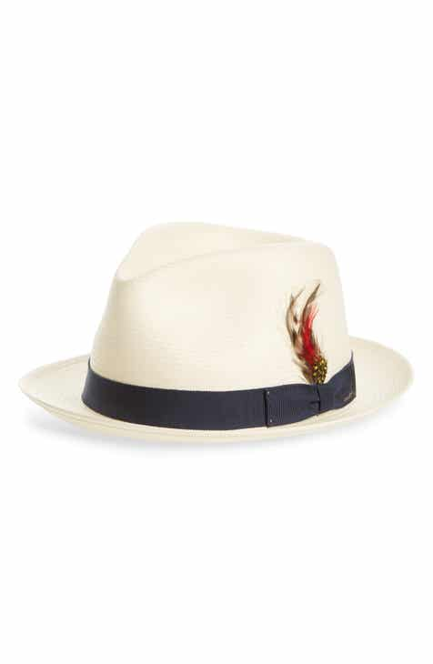 d39d981386a54 Bailey  Guthrie  Water Repellent Straw Fedora