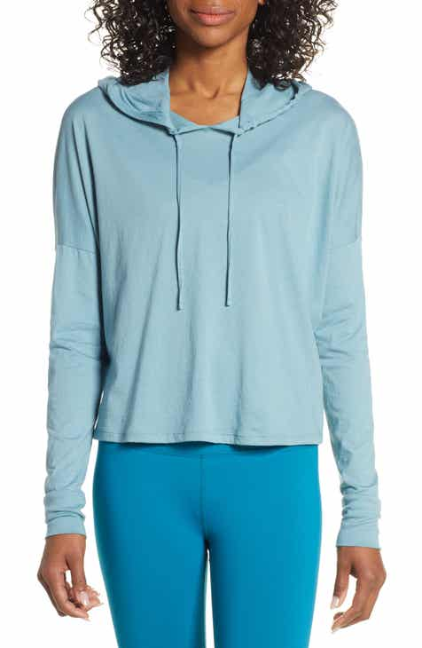 Beyond Yoga Time Out Crop Pullover by BEYOND YOGA