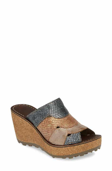 b58911a36dd Fly London Gaxi Wedge Slide Sandal (Women)