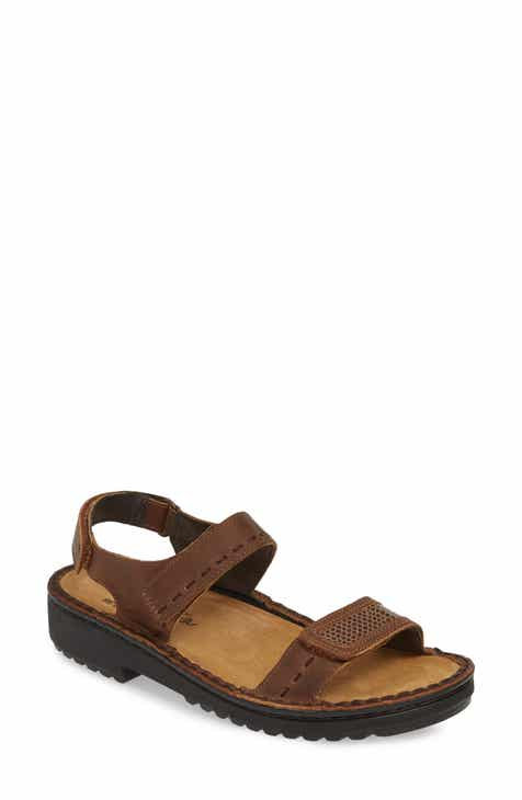 83beb021a20d Naot Benya Sandal (Women).  144.95. Product Image. BROWN  BLACK LEATHER