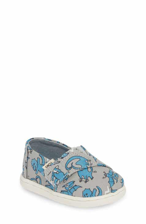 finest selection ca6e7 3e717 TOMS Alpargata Classic Print Slip-On (Baby, Walker   Toddler)
