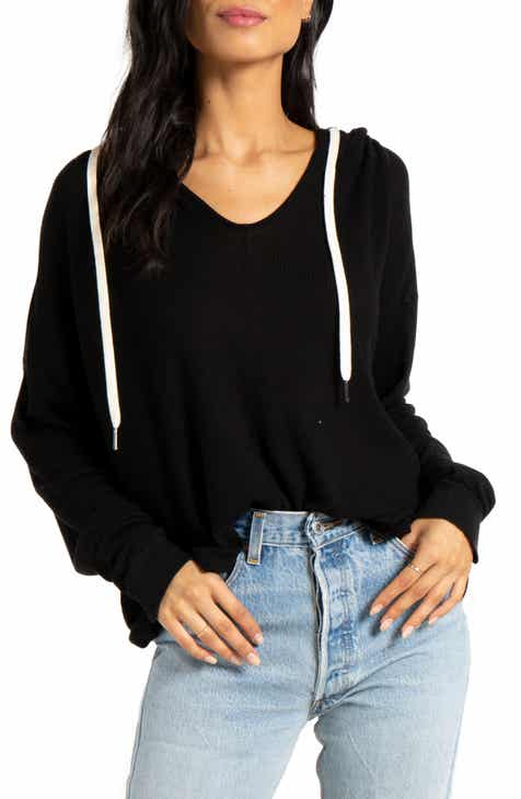 n:PHILANTHROPY Blues Thermal Hooded Pullover by N PHILANTHROPY