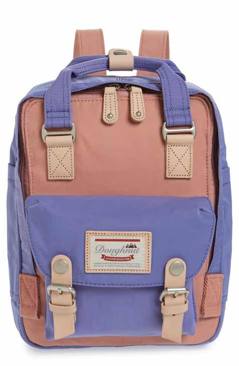 dc669828ee Doughnut Mini Macaroon Colorblock Water Resistant Backpack