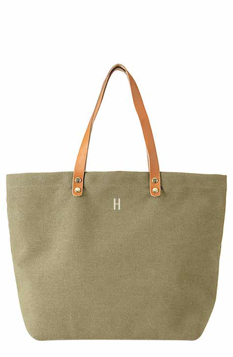 24084e830c5e Cathy s Concepts Monogram Washed Canvas Tote
