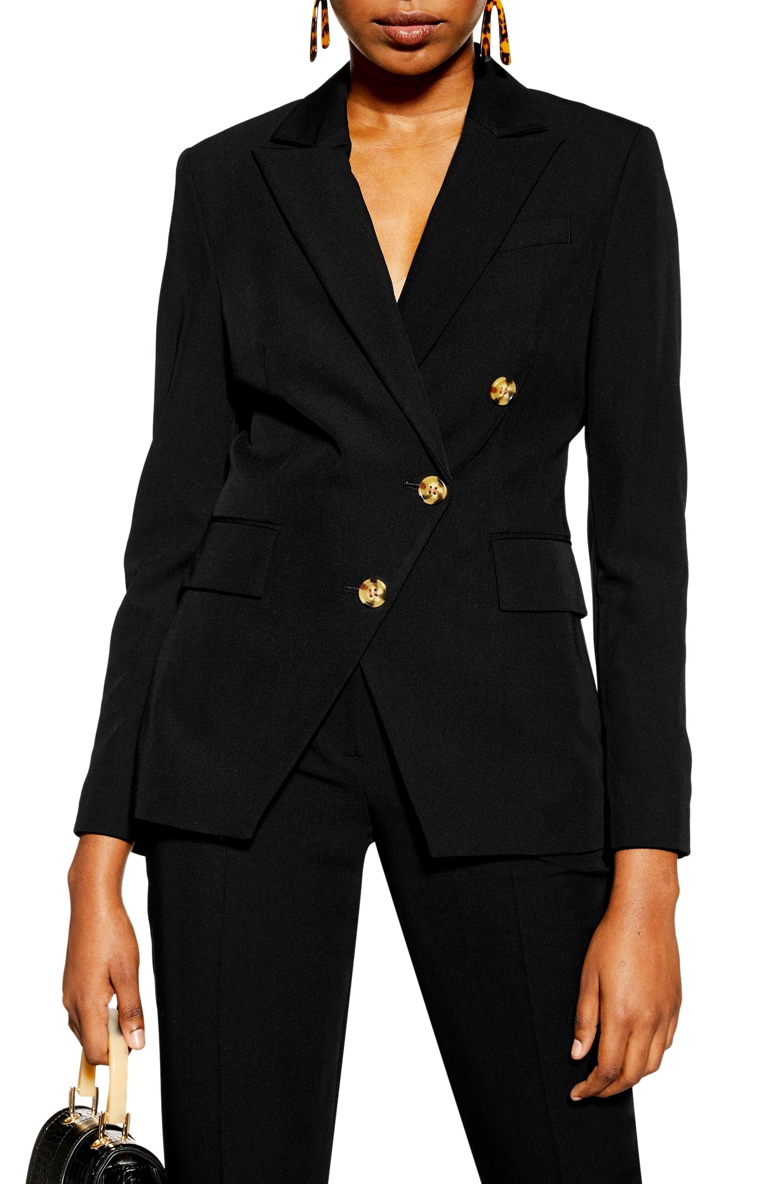 Sale Topshop Nanette Asymmetrical Jacket