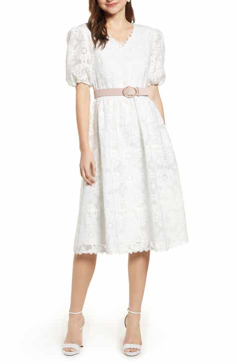 1c6546b084c Rachel Parcell V-Neck Lace Dress (Nordstrom Exclusive)